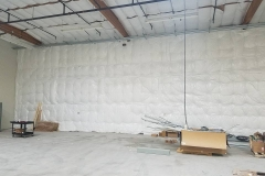 Completed Commercial Insulation Project