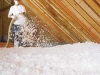 Installing Blown Attic Insulation